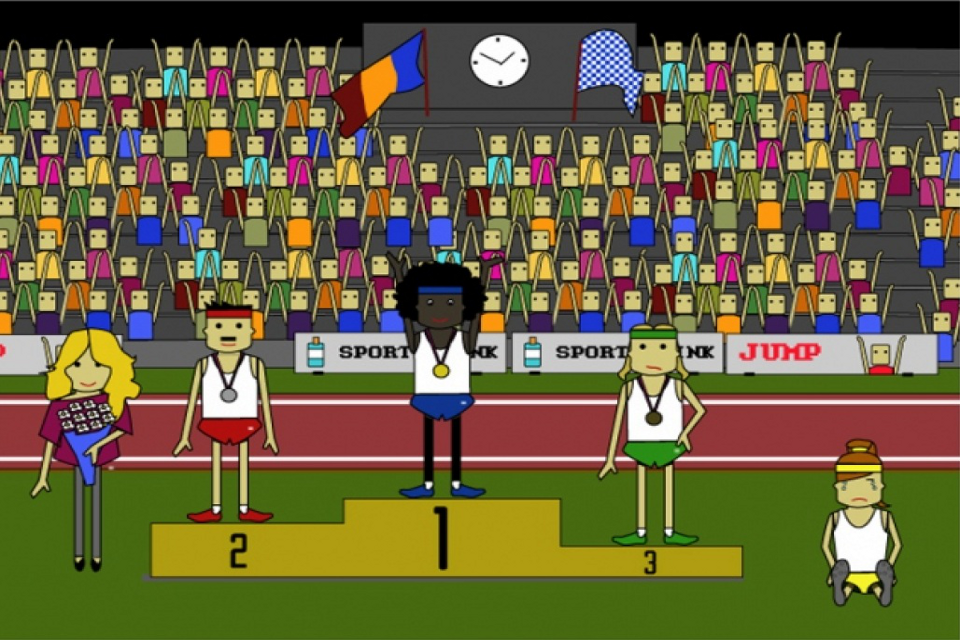 Screenshot Long Jump for Gold HD