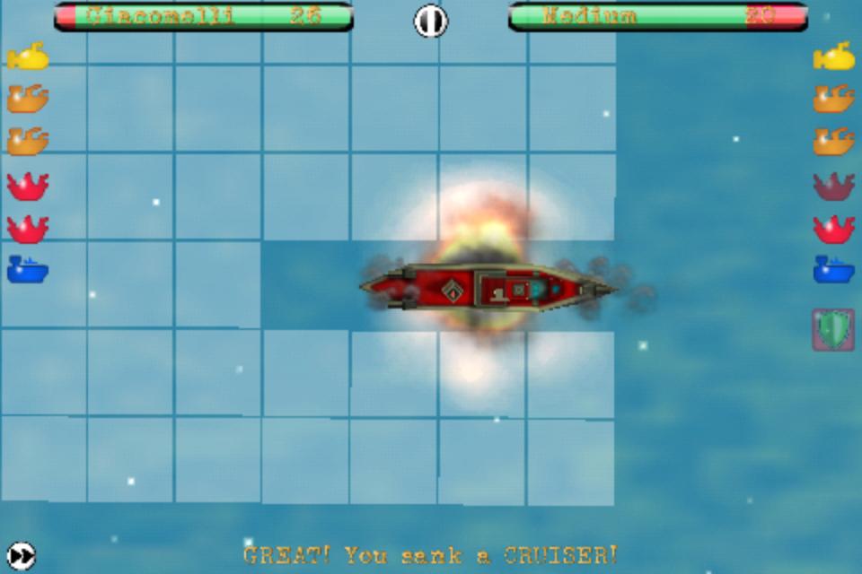 Screenshot Ships N' Battles – The Battleship Revolution